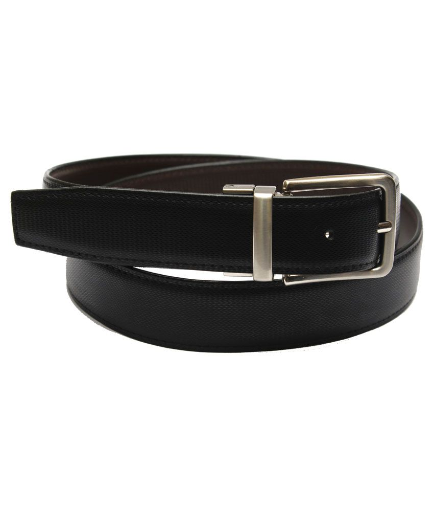 Krazoo Black Non Leather Pin Buckle Formal Belt