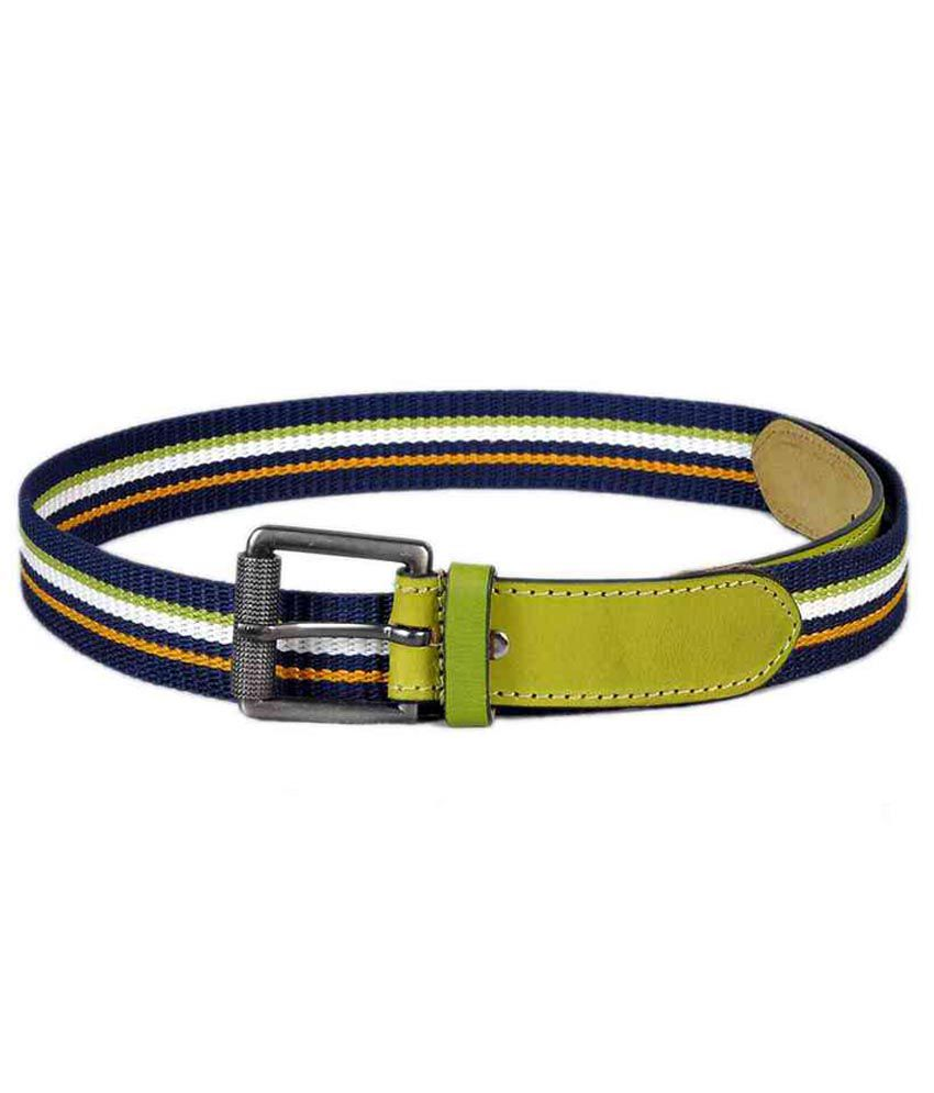Sash Green Canvas Belt For Men