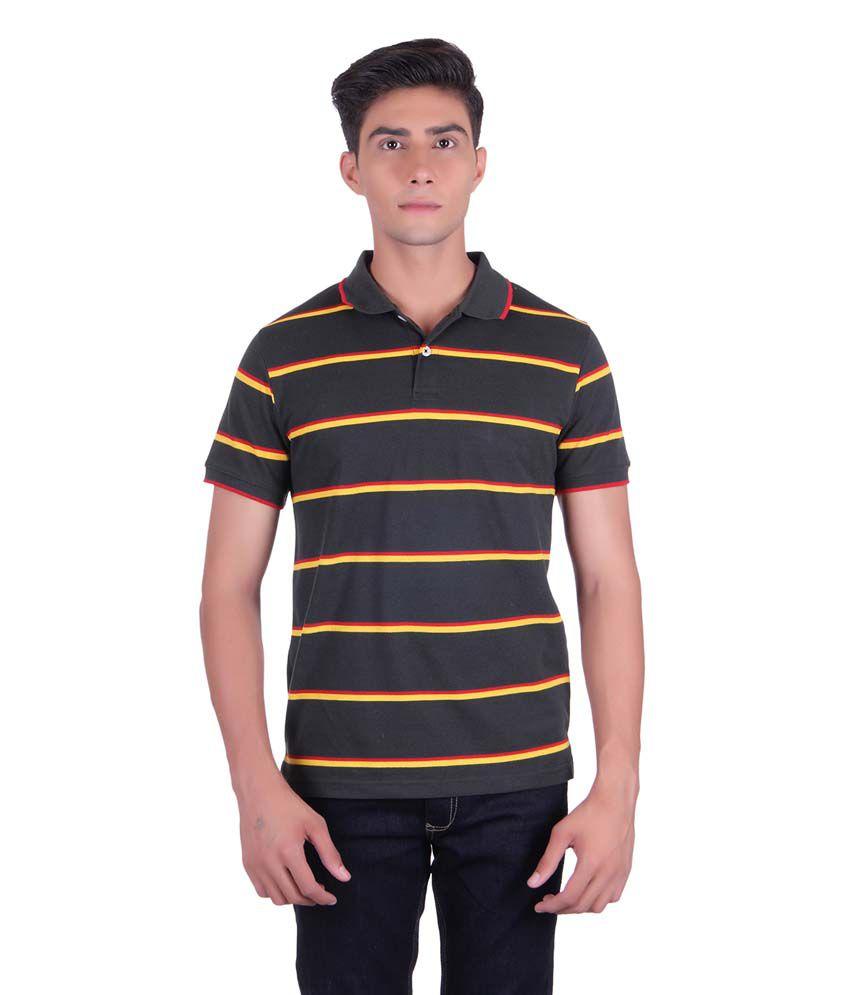 Austin Wood Multicolor Cotton T-Shirt
