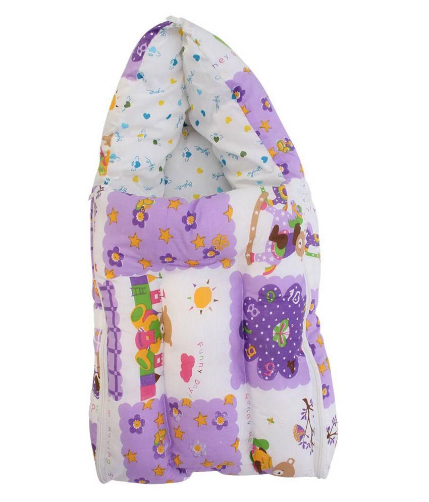 Luk Luck Purple Foam Sleeping Bag