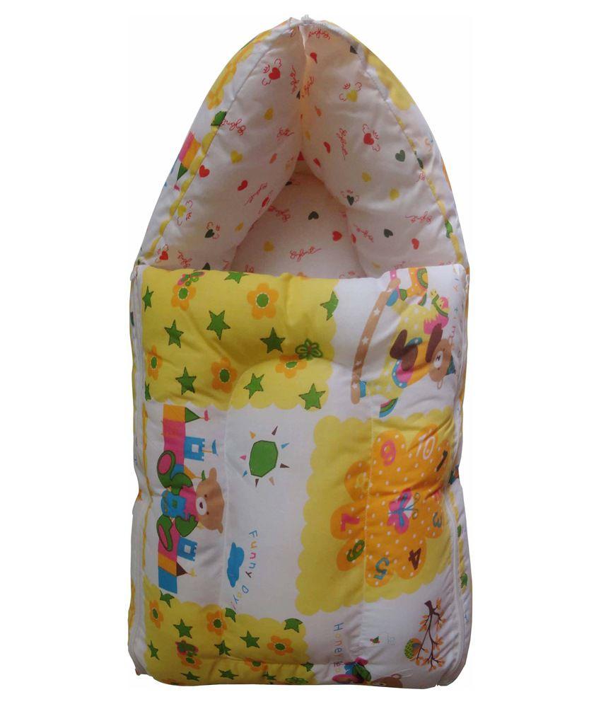 Luk Luck Yellow Foam Sleeping Bag