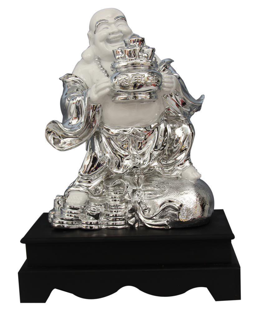 Shopville Glossy Laughing Buddha Idol