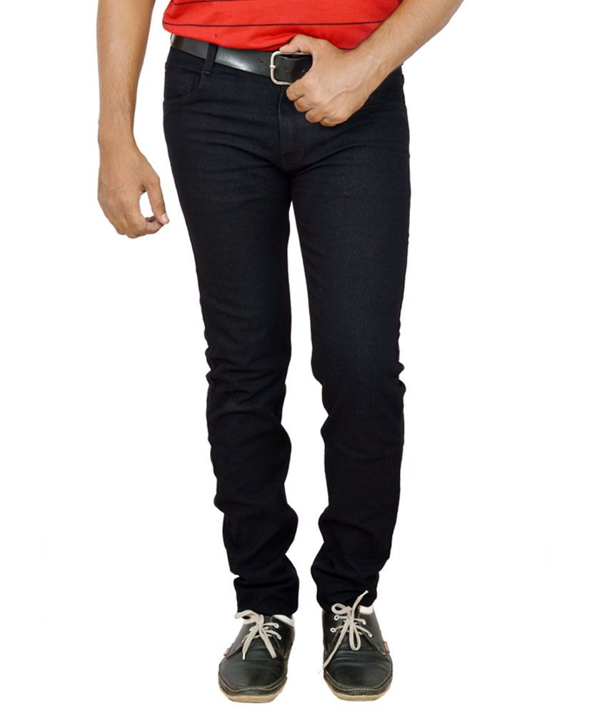 Nitron Black Slim Fit Jeans