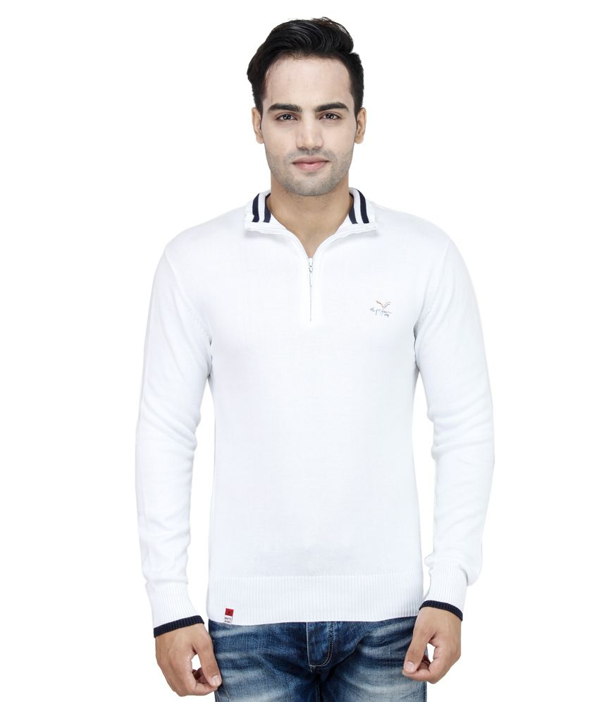 24914ccf50 Mufti Men's T-shirt White Full Sleeves Basics Polo T-shirt - Buy Mufti Men's  T-shirt White Full Sleeves Basics Polo T-shirt Online at Low Price -  Snapdeal. ...