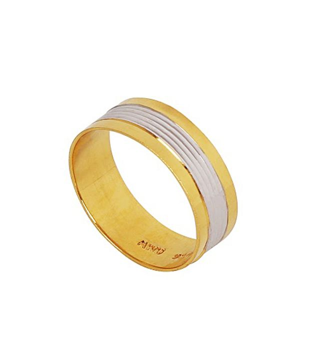 Anu Jewels 22kt Gold Fancy Band Ring