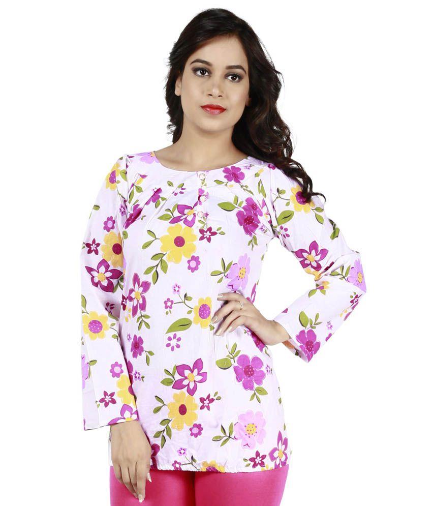 Fashionable Multi Cotton Tunics