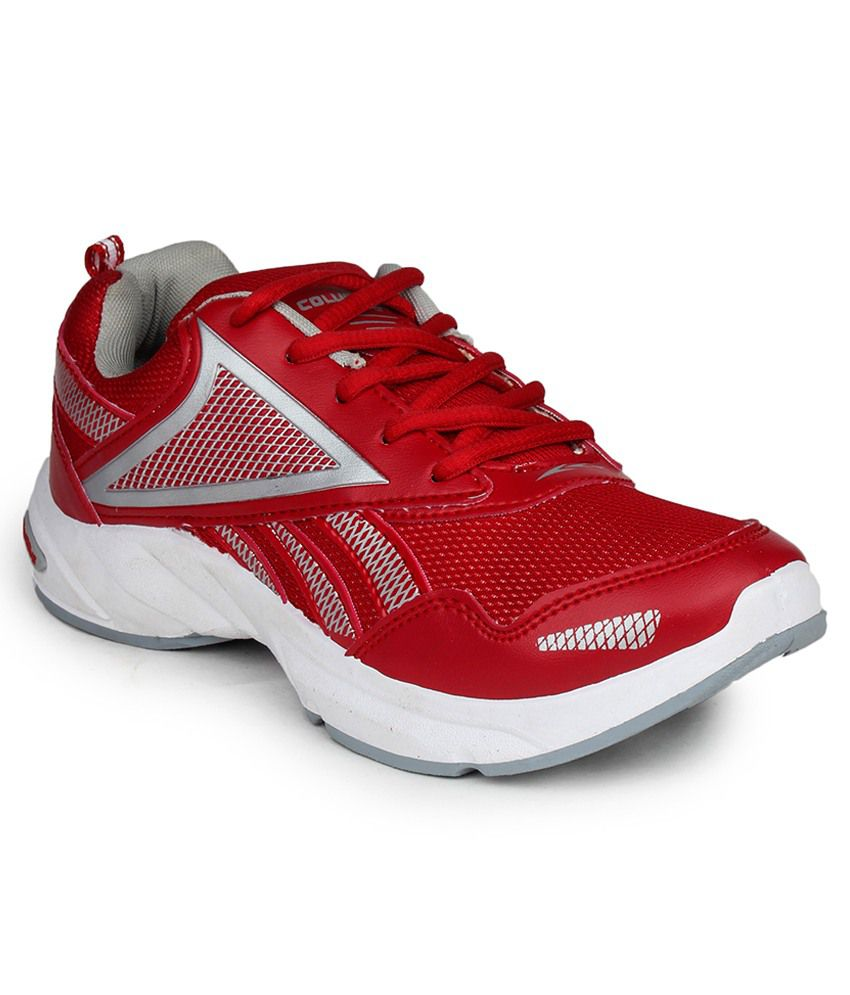 Columbus Red Sports Shoes