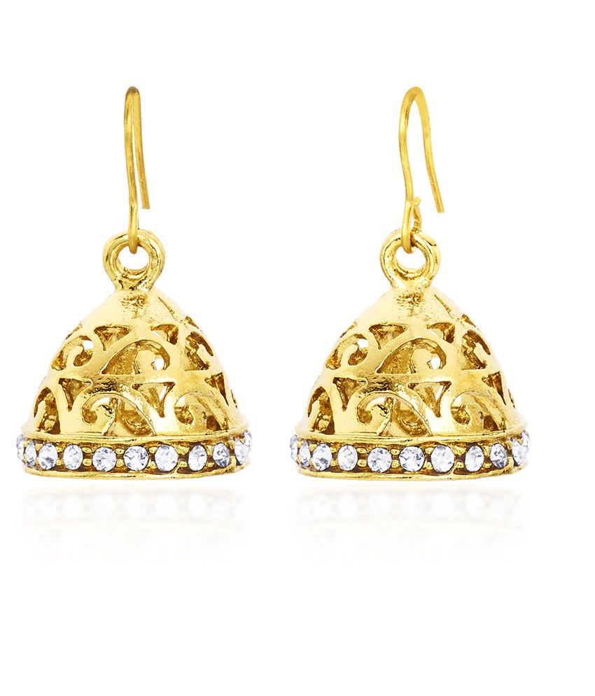 Cuzibox Gold Alloy Hangings Earrings
