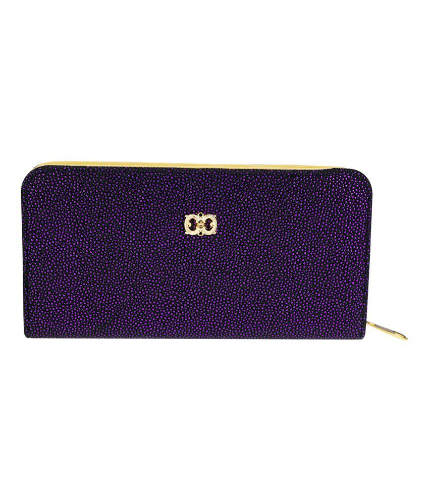 Genious Purple Formal Wallet