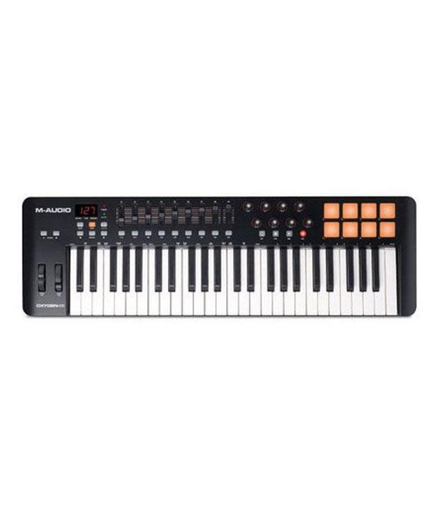 m audio oxygen 49 4th generation usb midi keyboard controller buy m audio oxygen 49 4th. Black Bedroom Furniture Sets. Home Design Ideas