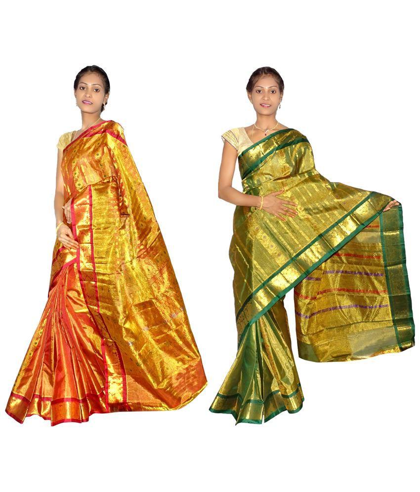 Mahaveers silk sarees online shopping
