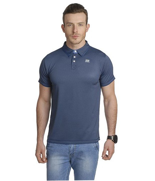 T10 Sports Navy Ace Polo T-Shirt