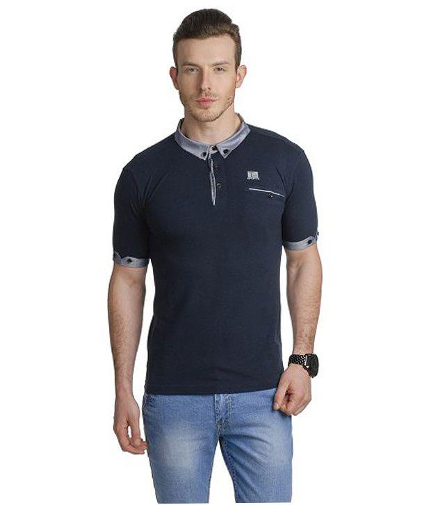 T10 Sports Navy Statesman Polo T-Shirt