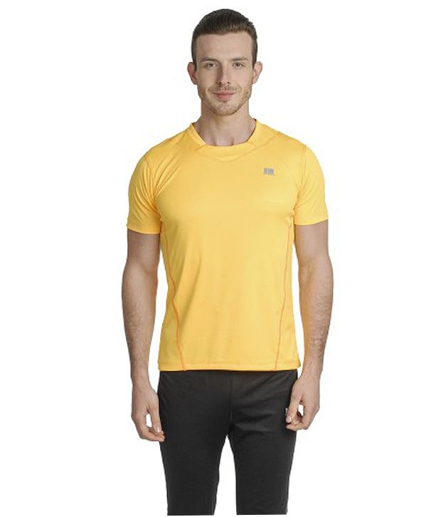 T10 Sports Yellow Safe T-Shirt