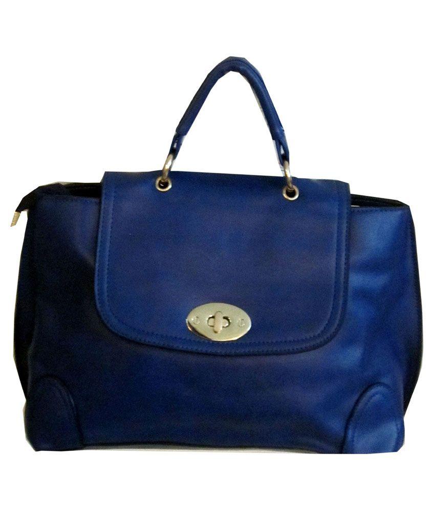 Acme Blue Satchel Bag