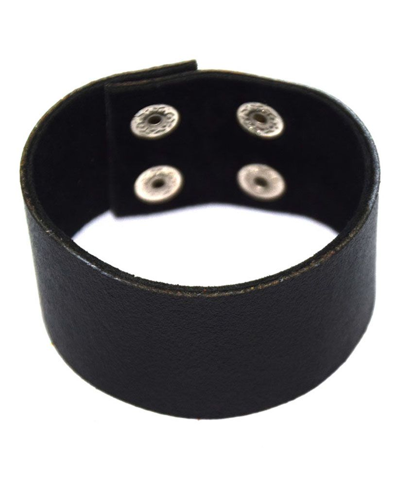 Sakshi International Black 002 Wrist Band