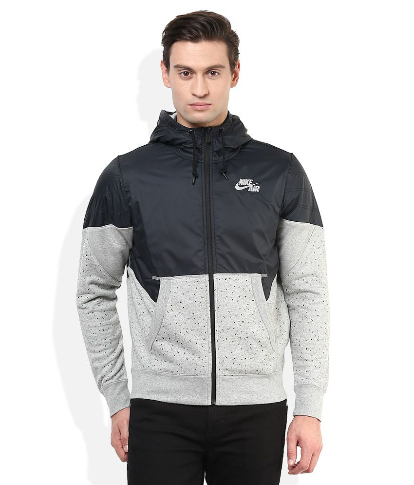 Nike Navy Hooded Sweatshirt