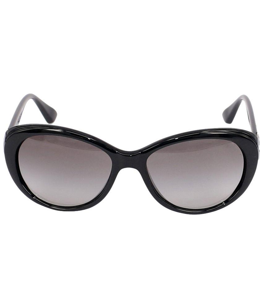 2947a5c94dc2f Vogue Black   Gray Cat Eye Sunglasses for Women - Buy Vogue Black ...