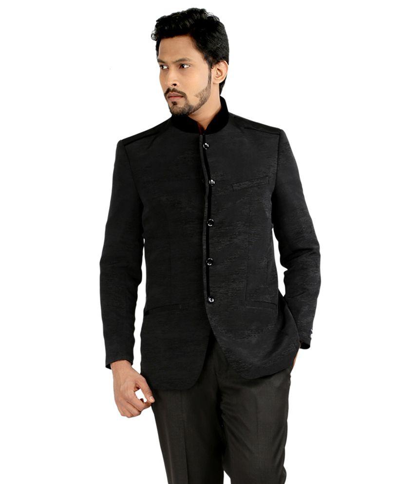 Oxemberg Black Polyester Blazer