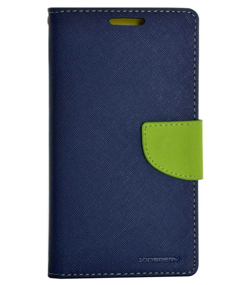Cell Mates Flip Cover For Samsung Galaxy J7 - Blue