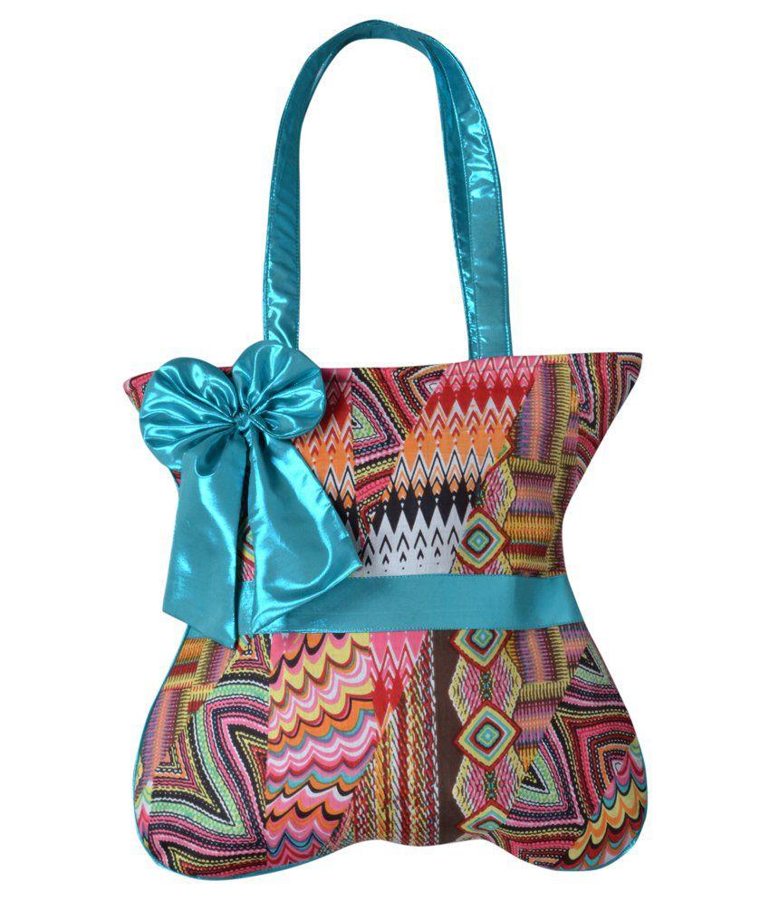 Angelfish Designer Multicolor Shoulder Bag