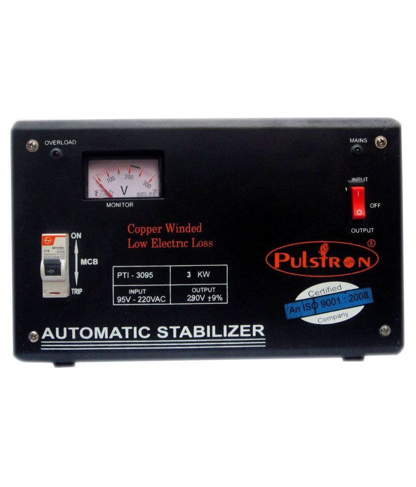 Pulstron-PTI-3095-Voltage-Stabilizer