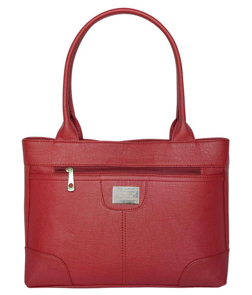 Bueva Maroon Shoulder Bag