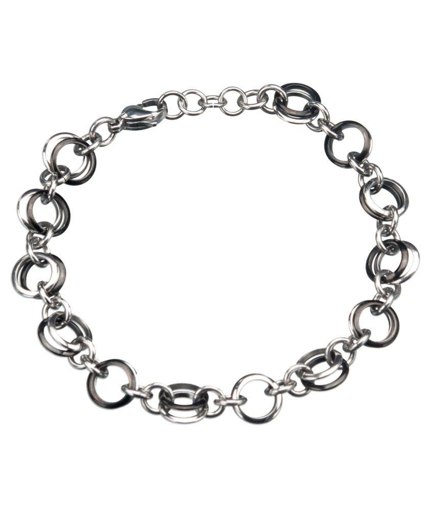 inox jewelry silver stainless steel bracelet buy inox