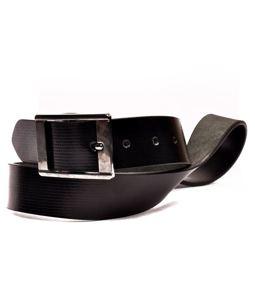 Zakina Black Leather Belt