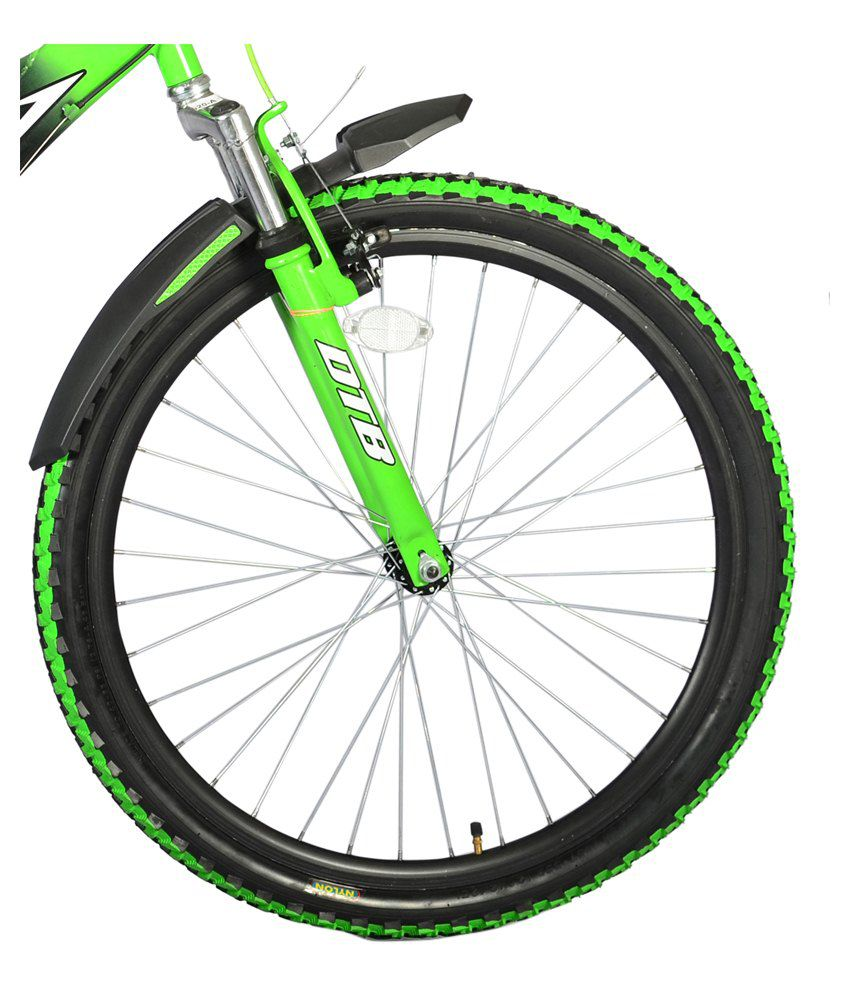 Hero Black & Green Adult Mountain Cycle: Buy Online at Best Price ...