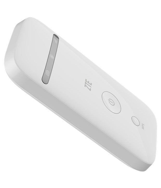 ZTE MF65 21.6 Mbps 3G Wireless Router (White)
