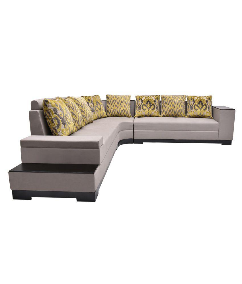 Elegant Mini L Shaped Couch