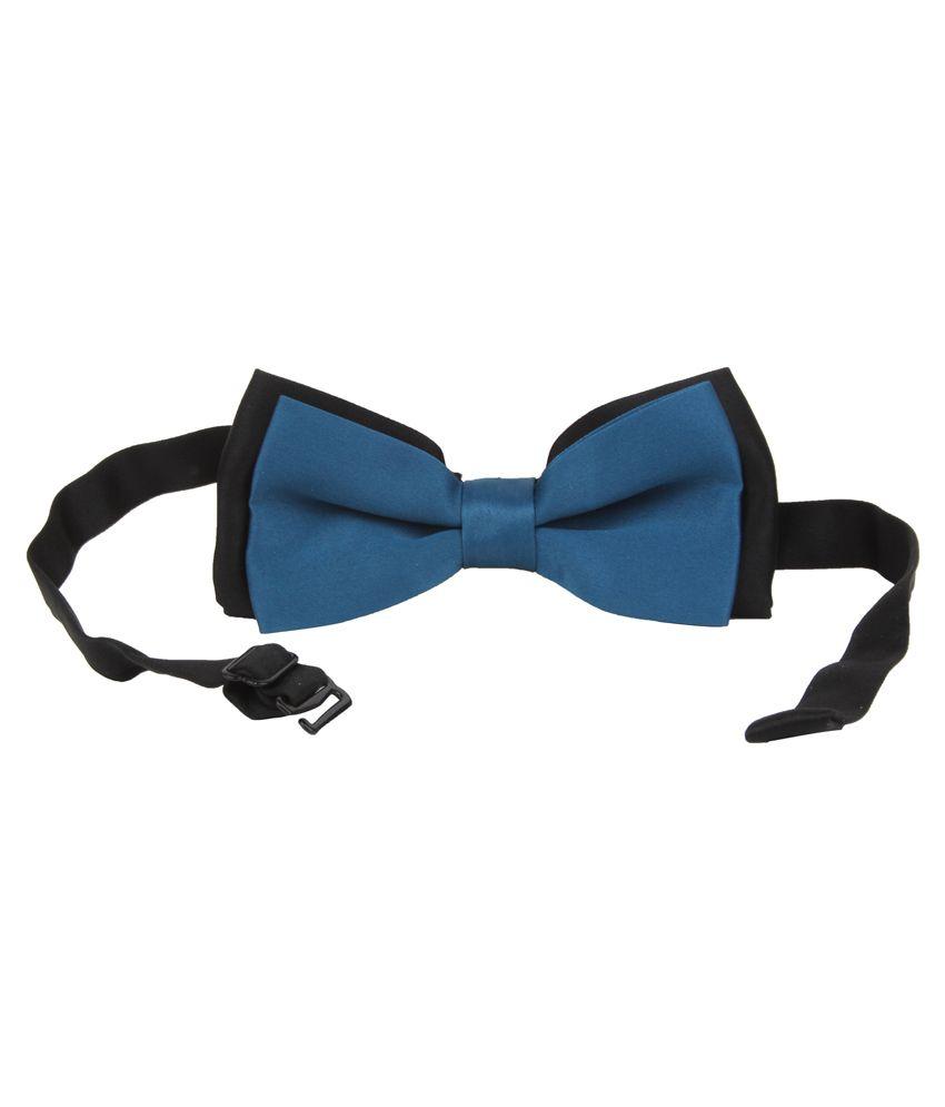 Alvaro Castagnino Blue Micro Fiber Bow Tie