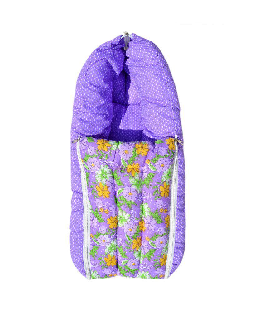 Younique Purple Cotton Sleeping Bags ( 60 cm × 55 cm)