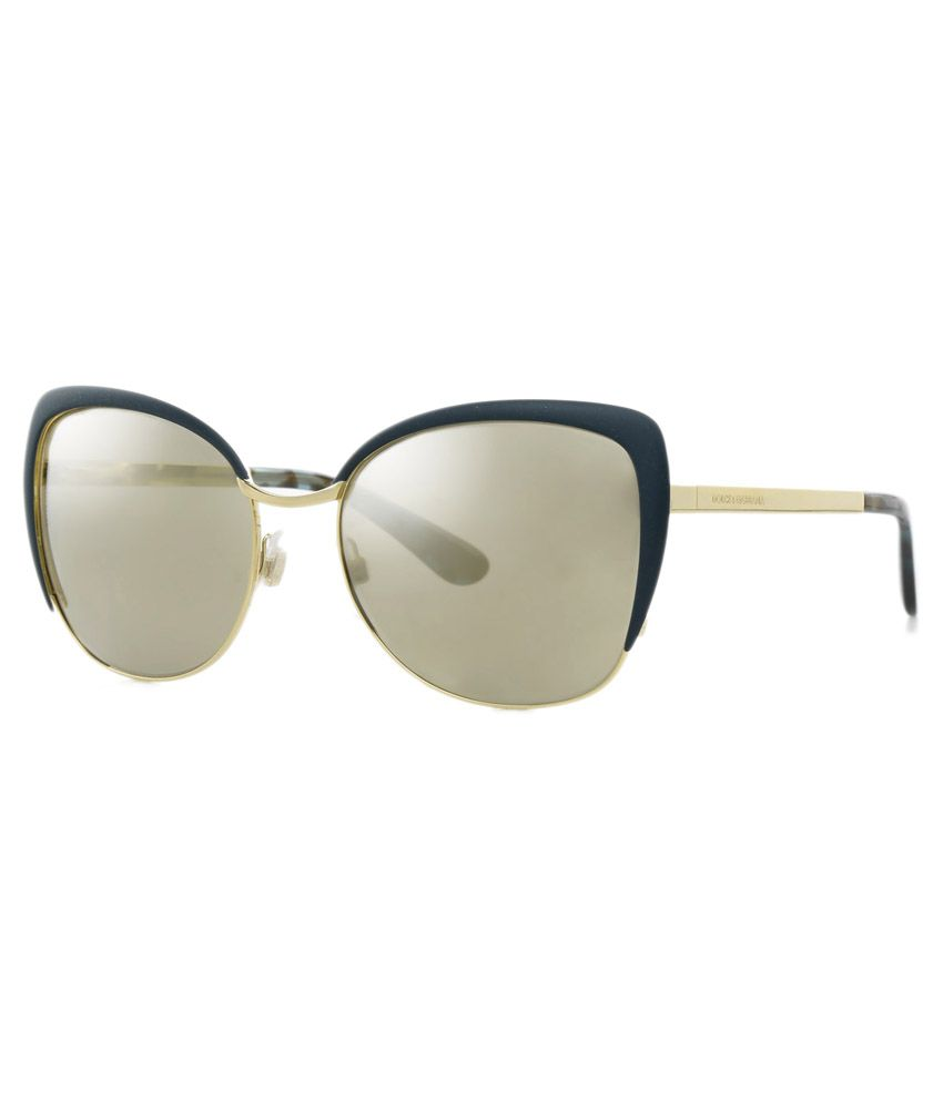 7d91da8d957 Dolce   Gabbana Blue Frame Cat-Eye Sunglasses - Buy Dolce   Gabbana Blue  Frame Cat-Eye Sunglasses Online at Low Price - Snapdeal