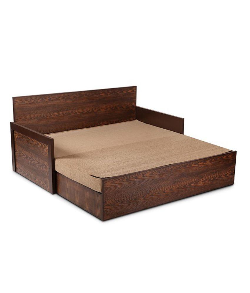 dollop slider bed with storage beige buy dollop slider bed with