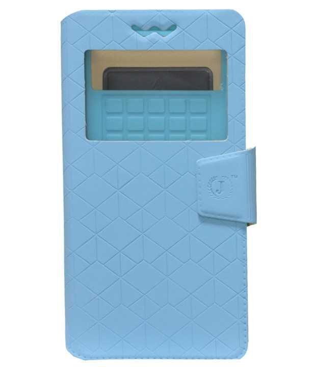 Jo Jo Flip Cover For Sony Xperia Z1 C6943 - Blue