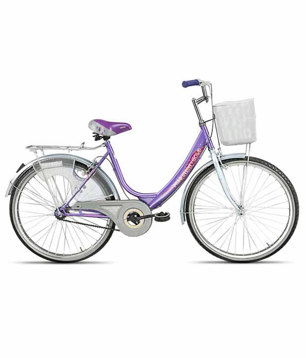 Hero Miss India Gold purple 26T Bicycle Adult Bicycle/Man/Men/Women