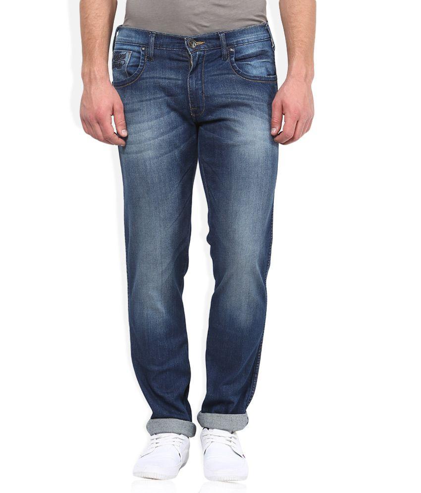 Wrangler Blue Light Wash Regular Fit Jeans