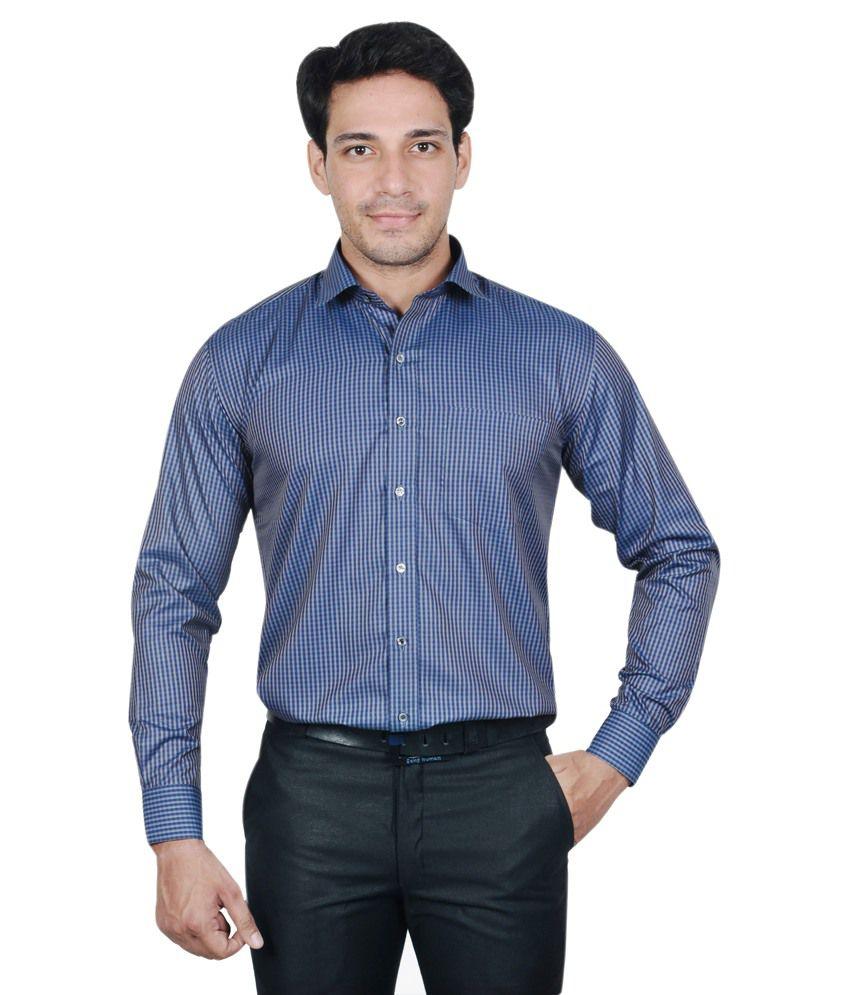The Mods Blue Formal Shirt