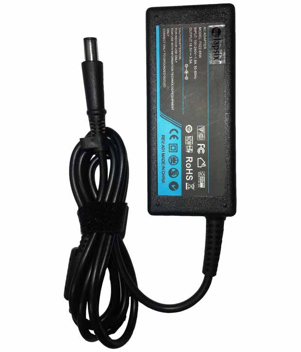 Lapsix Laptop AC Adapter And Charger 18.5V-3.5A 65W For HP Pavilion G71
