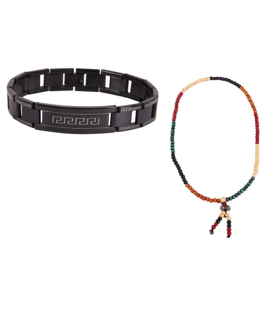 Sushito Black Bracelet And Necklace