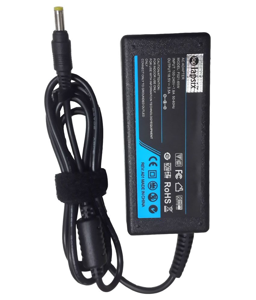 LAPSIX Laptop AC Adapter and Charger 19.5V-3.95A For Sony Vaio PCG-R600HEP