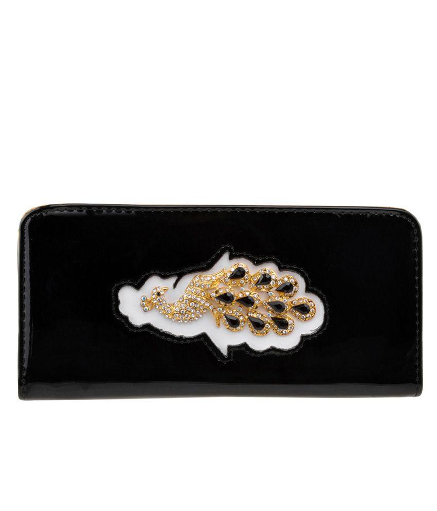 Fashion Dolchi Black Clutch