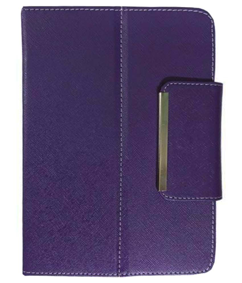 VPS Flip Cover For Notion Ink Cains 8 Tab-Purple