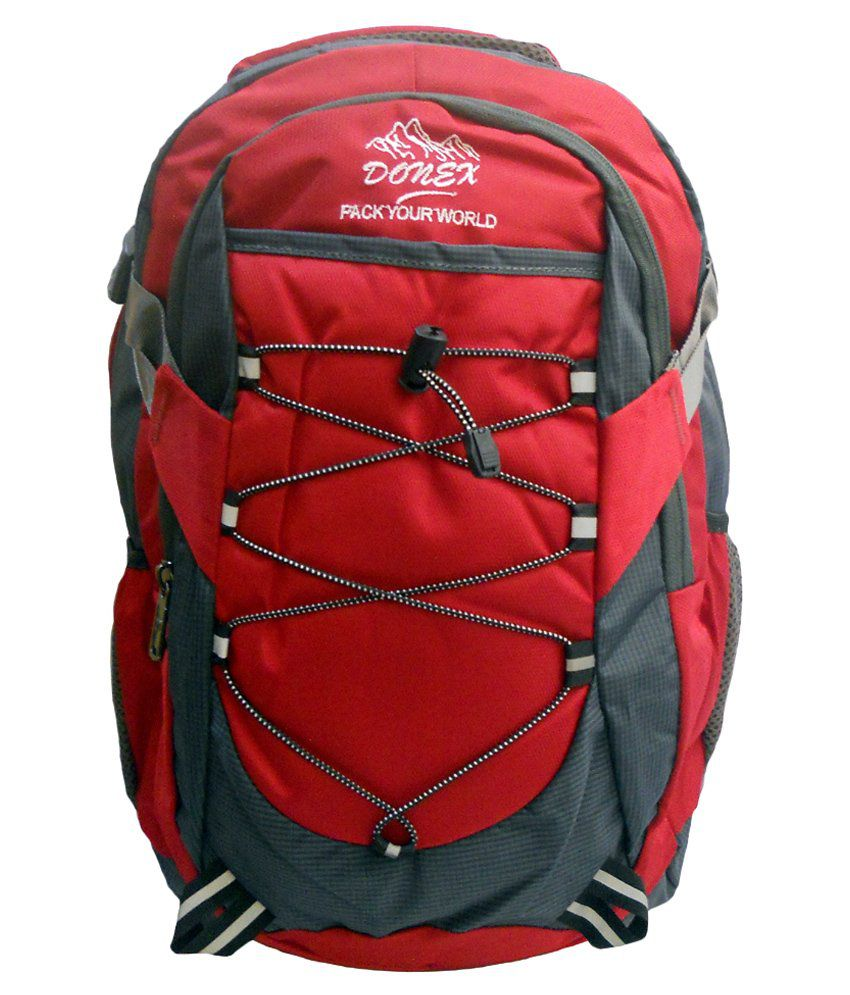 Donex Red Backpack
