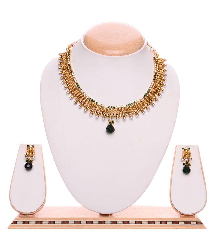 iGenie Gold Copper Necklace Set