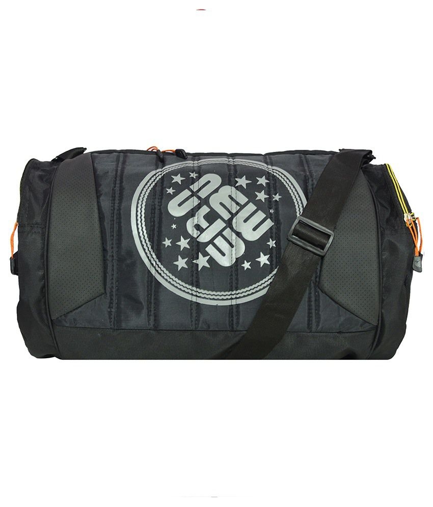 Newera Black ( 19 Inch ) Gym Bag