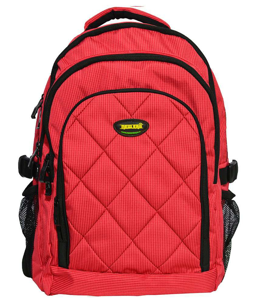 Newera Red Backpack