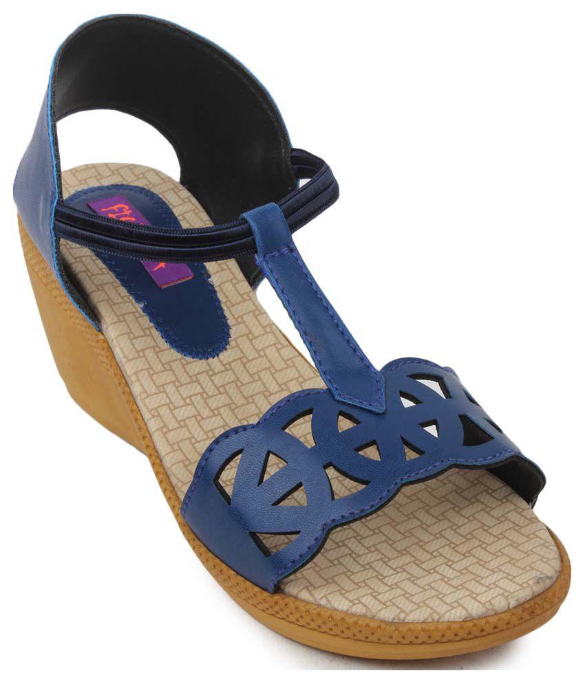 Fiorella Blue Heels